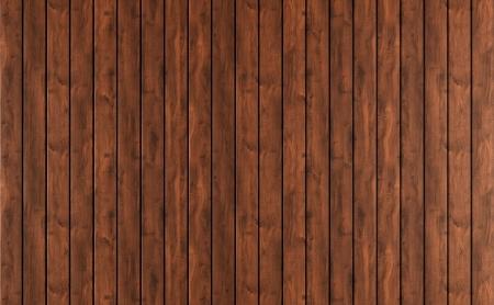 Achtergrond van donkere houten lambrisering - rendering