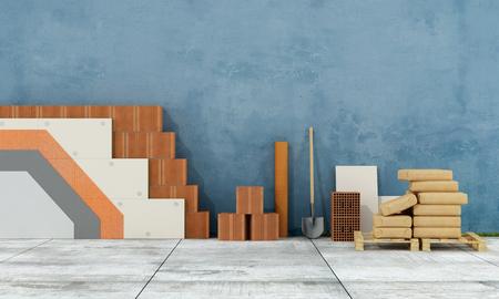 Утепление старой стены с полистирола