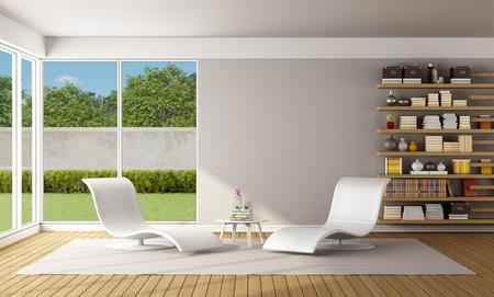 Boekenkasten Modern: Moderne roestvrij stalen boekenkast andere ...