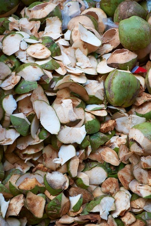 rend: Heap of coconut shell