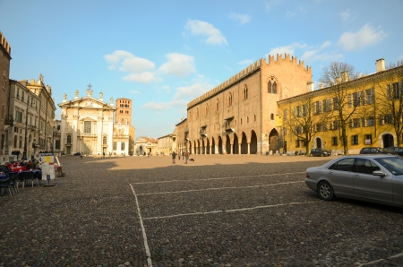 ducale: Piazza Ducale Stock Photo