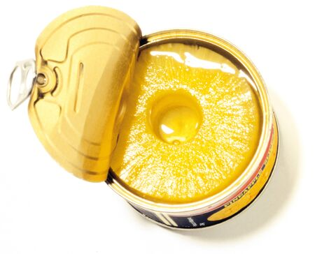 pineapples in a can Stock Photo
