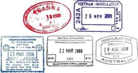 timbres de passeport