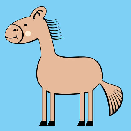 petting zoo: horse