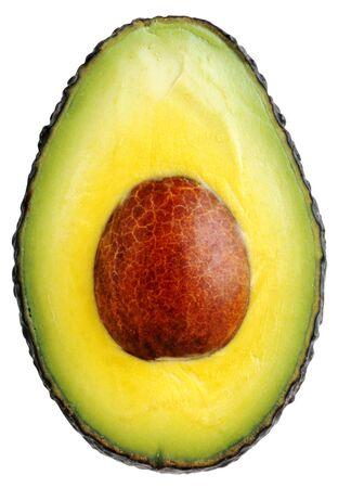 avocado with pits Stock Photo