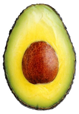 avocado with pits Stock Photo