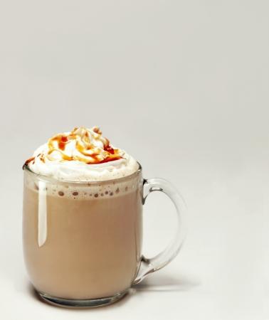hot caramel mocha 版權商用圖片