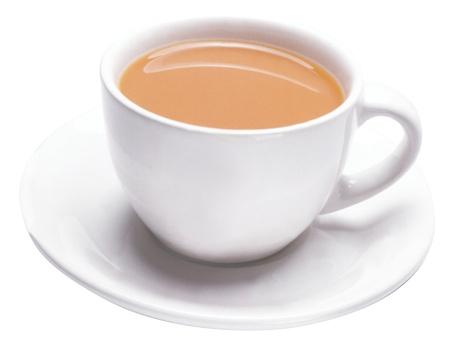 une tasse de th�