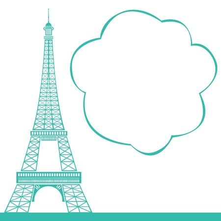 la tour eiffel: eiffel tower