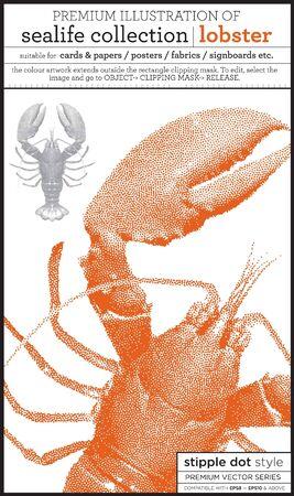lobster Stock Vector - 15369284