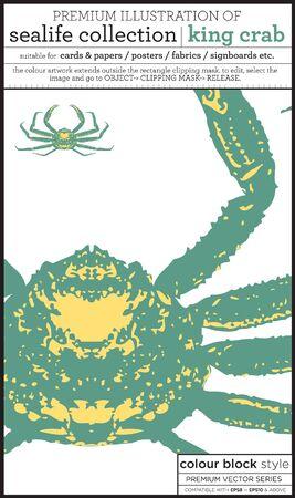 king crab Stock Vector - 15369273