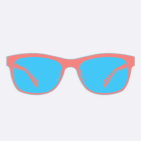 eyewear fashion: sunglasses vector