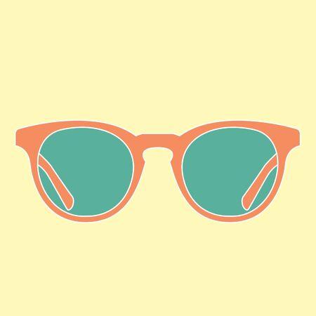 sunnies: sunnies vector Illustration