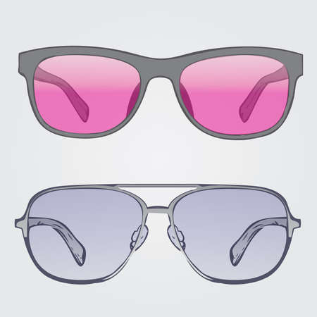 sunnies: sunglasses  Illustration