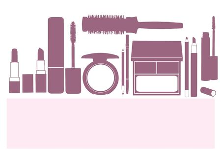 makeup products Stock Vector - 17367044