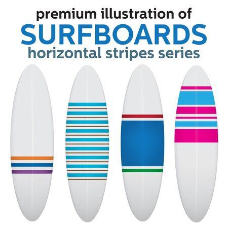 VECTOR SURFBOARD DESIGN Stock Vector - 19826026