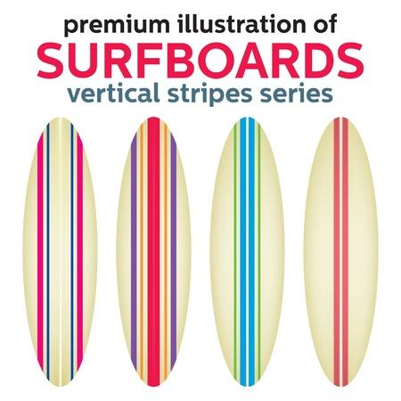 VECTOR surfplankontwerp Vector Illustratie
