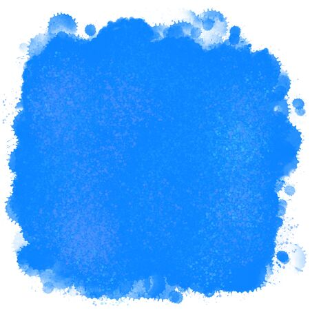 solid background: blue watercolour background