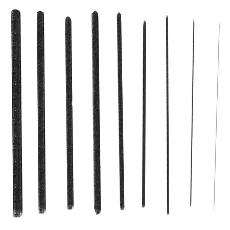 lineas rectas: tinta trazos de l�neas rectas