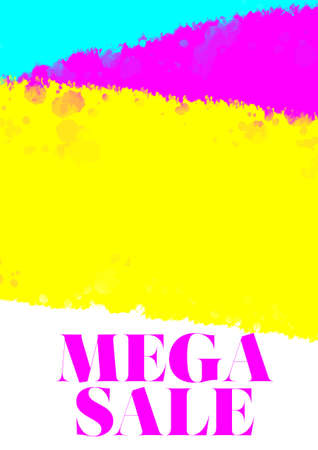 mega: mega sale poster
