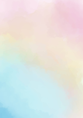 abstract colorful watercolor background. soft pastel wash