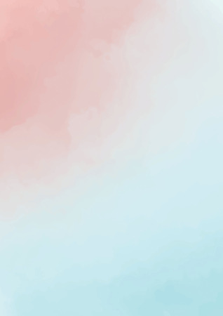 abstract pastel , soft wash blurred watercolor background Banco de Imagens
