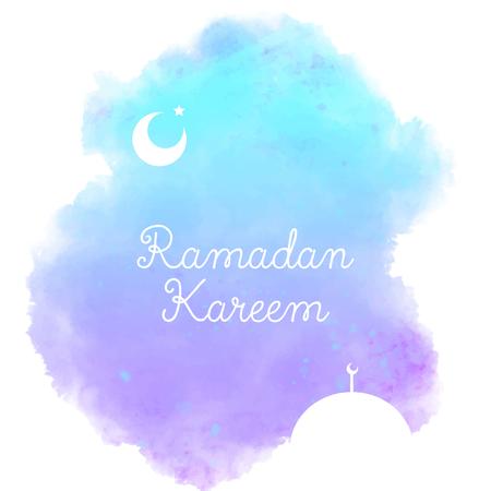 ラマダン カリーム デザイン  イラスト・ベクター素材