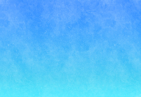 light blue color textured painted wall. cyan water color paper. abstract sky gradient background. eps 8