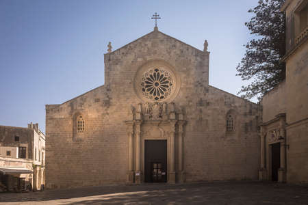 The Cathedral of Santa Maria Annunziata in Otranto called 800 martyrs
