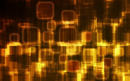 Abstract background of cyberspace