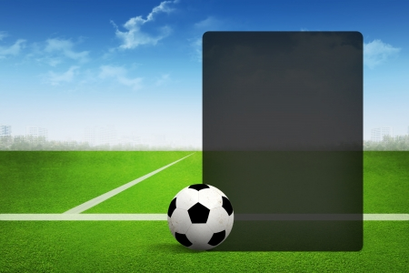 Soccer abstract background for page presentation