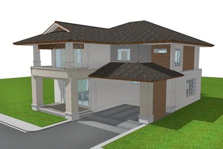 3d render of house Фото со стока