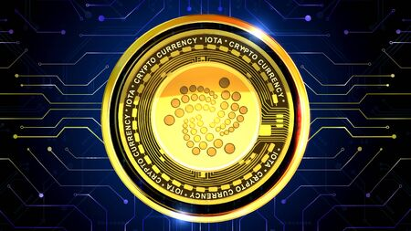 Cryptocurrency background is perfect for any type of news or information presentation. The background features a stylish and clean layout