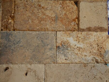 building wall: Textures natural stone for building and wallpaper Stock Photo