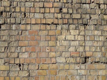 Texture of a stone wall brickwork Banco de Imagens