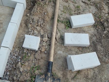 Building bricks, stone materials for work 版權商用圖片
