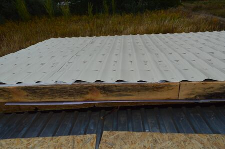 Polyvinyl chloride soffits for roof insulation
