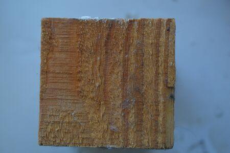 Wood texture closeup structure of sawn timber Stock Photo