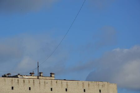 Internet And Cable Providers >> Internet And Television Cable Providers On And Between Rooftops