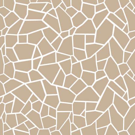 Stone seamless texture. Stone overlay texture. Mosaic tracery texture. Design background. Vector illustration. Illustration