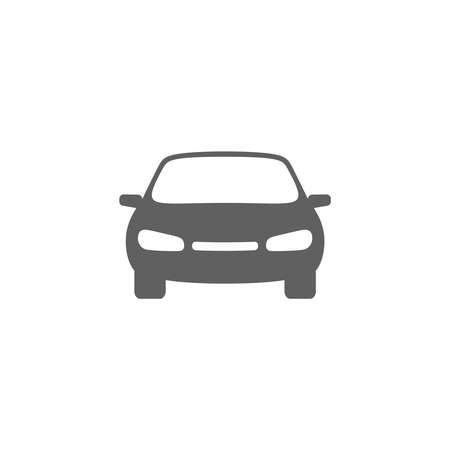 Car graphic icon. Auto sign isolated on white background. Vehicle    symbol. Vector illustration