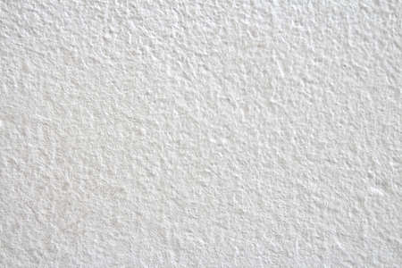 white sandy paint wall background or texture Stock Photo