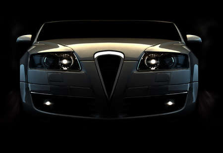 shiny car: Snelle auto  Stockfoto