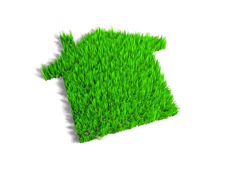echo: Green echo house metaphor