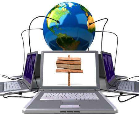 Global network the Internet Stock Photo - 7324808