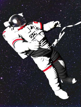 astronauta Archivio Fotografico