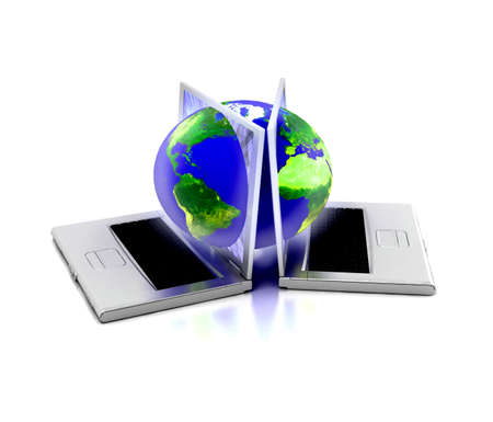 Global network the Internet Stock Photo - 7324172