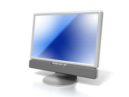 LCD monitor photo