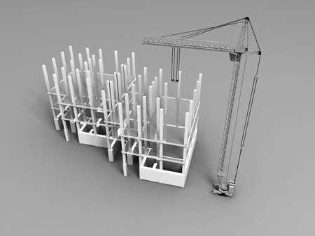 3D plan drawing Stock Photo - 7324662