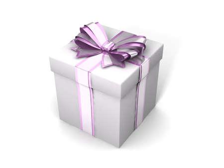 gift giving: Nice gift Stock Photo